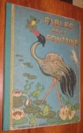 Livre - LES FABLES DE LA FONTAINE - 1948 - Edition BIAS - Illustré Par A.Jourcin / 7 - Poesia