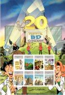 2015 Luxembourg Comics  / Bande Dessinee Festival - Special Sheetlet MNH** - Lussemburgo