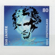 2020 Germany 250 Years Of Beethoven Birthday Beethoven Year 1v S.adhesive MNH** MI 3513 Music, Composer - [7] República Federal