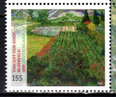 2020 Germany Treasures Of German Museums Van Gogh Poppy Fields / Mohnfeld MNH** MI 3512 Art, Landscapes, Painting - Impressionisme