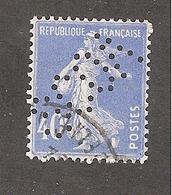 Perforé/perfin/lochung France No 237 SCOA Sté Commerciale De L'Ouest Africain - Perfins