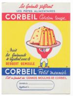 Protége Cahier Pâtes Alimentaires Corbeil Cordon Rouge - Protège-cahiers