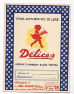 Protége Cahier Pâtes Alimentaire Délices - Protège-cahiers