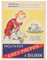 Protége Cahier Moutarde Grey-Poupon à Dijon - Protège-cahiers