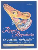 Protége Cahier Raynal Et Roquelaure La Cuisine Toute Prête - Protège-cahiers