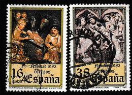 SPANJE 1983 - MICHEL 2615/2616 - USED / GESTEMPELD / OBLITERE - 1931-Aujourd'hui: II. République - ....Juan Carlos I