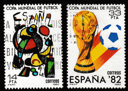 SPANJE 1982 - MICHEL 2532/2533 - USED / GESTEMPELD / OBLITERE - 1931-Aujourd'hui: II. République - ....Juan Carlos I