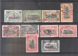Congo Belge - 85/94 - Série Complète - Obl/gest/used (à Voir) - Congo Belge