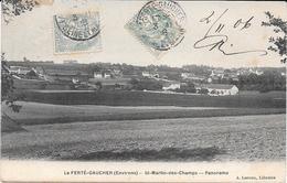 77 - ST MARTIN Des CHAMPS ( Environs De La FERTE GAUCHER ) : Panorama - CPA Village (650 Habitants) Seine Et Marne - La Ferte Gaucher