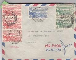 COVER. NEW-HEBRIDES. 25 5 62. VIA AIR MAIL. SANTO TO FRANCE - Engelse Legende