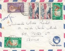 LETTRE. NOUVELLE HEBRIDES. 27 9 66. PAR AVION. VILA POUR PARIS - Brieven En Documenten