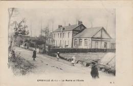 Epreville , La Mairie Et L'école ,( Le Havre , Fécamp ) Correspondance Militaire 1916 - Fécamp