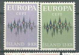ISLANDIA -  YVERT  414/15  -  EUROPA CEPT (#3033) - Nuevos