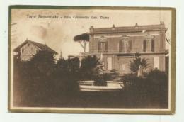 TORRE ANNUNZIATA - VILLA COLONNELLO CAV. DIANA  VIAGGIATA  FP - Torre Annunziata