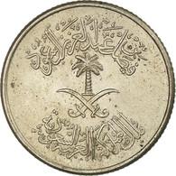 Monnaie, Saudi Arabia, UNITED KINGDOMS, 5 Halala, Ghirsh, 1972/AH1392, TB+ - Saoedi-Arabië