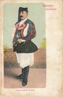 OLIENA-SASSARI-COSTUMI SARDI-CARTOLINA NON VIAGGIATA ANNO 1900-1904 - Sassari