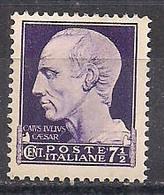 REGNO D'ITALIA   1929  IMPERIALE SASS. 244 MNH XF - Nuovi