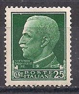 REGNO D'ITALIA   1929  IMPERIALE SASS. 248 MNH XF - Nuovi