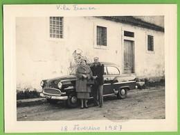 Vila Franca De Xira - REAL PHOTO - Vintage Car - Old Cars - Voitures - Opel - Deutschland - Portugal - Turismo