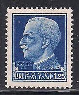 REGNO D'ITALIA   1929  IMPERIALE SASS. 253  MNH XF - Nuovi