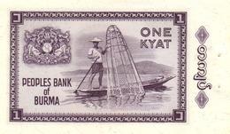 BURMA P. 52 1 K 1965 UNC - Myanmar
