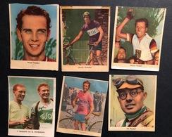 6 Cartes / Chromos Nederlands  -  Cyclists - Cyclisme - Ciclismo -wielrennen - Wielrennen