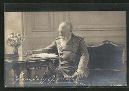 AK Friedrich Von Baden Mit Buch - Koninklijke Families