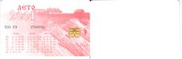 Phonecard   Russia. Nalchik  300 Units 2001 - Russia
