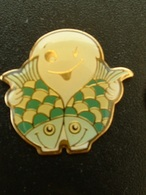 Pin's SIGNE ASTROLOGIQUE - ZODIAQUE - POISSON - Pin's