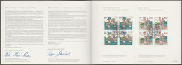 "Bund Europe: Minister Card - Ministerkarte Mi-Nr. 1608-09: "" Europa - 500 Jahre Entdeckung Amerika - ""  X - BRD"