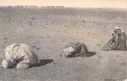 SCENES ET TYPES - La Prière Arabe - Algérie