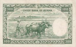 BURMA P. 51a 100 K 1958 UNC - Myanmar
