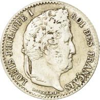 Monnaie, France, Louis-Philippe, 1/4 Franc, 1842, Bordeaux, TTB, Argent - France