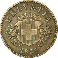 Monnaie, Suisse, 20 Rappen, 1858, Bern, TTB, Billon, KM:7 - Suisse