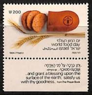 NB - [812323]TB//**/Mnh-Israël 1984 - N° 921, Journée Mondiale De L'alimentation , Avec Tabs - Alimentazione