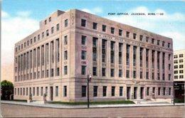 Mississippi Jackson Post Office 1943 - Jackson