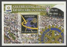 Papua New Guinea 2005 Mi Bl 32 MNH ( ZS7 PNGbl32 ) - Rotary, Lions Club