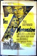 Affiche D'époque (LITHOGRAPHIE) De BORIS GRINSSON > Film LES SEPT MERCENAIRES (1960), Avec Yul Brynner, Steve McQueen... - Affiches & Posters