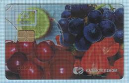 Kazakhstan / Phonecard / Phone Card / Kazakhtelecom. Fruit. Berries - Kazachstan