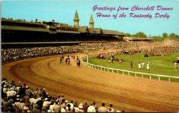 Kentucky Louisville Churchill Downs Greetings - Louisville