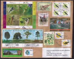 Argentina - 2020 - Lettre - Faune - Arbres - Oiseaux - Colibris - Tourisme - Briefe U. Dokumente