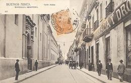 Buenos Aires (Républica Argentina, Argentine) Calle Alsina - Carte Dos Simple N° 237 - Argentina