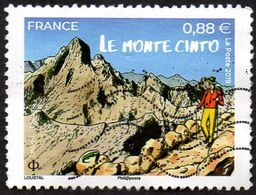 Oblitération Moderne Sur Timbre De France N° 53039 - Le Monte Cinto (Corse) - Gebraucht