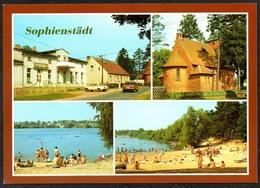 D2593 - TOP Sophienstädt Gastsätte Campingplatz - Bild Und Heimat Reichenbach - Qualitätskarte - Unclassified