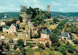 Turenne Vue Aerienne Ancienne Vicomté Vestiges Du Chateau Tour Cesar  CPM Ou CPSM - Francia