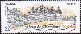 Oblitération Moderne Sur Timbre De France N° 5331 - Château De Chambord 500 Ans (Loir Et Cher) - France
