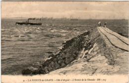 5HI 619 CPA - LA POINTE DE GRAVE - L'ENTREE DE LA GIRONDE - France