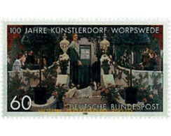 Ref. 50188 * MNH * - GERMAN FEDERAL REPUBLIC. 1989. CENTENARY OF WORPSWEDE . CENTENARIO DE WORPSWEDE - Dogs
