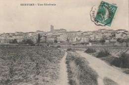 C17-34) SERVIAN (HERAULT) VUE GENERALE - France