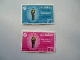 THAILAND ΜΙΝΤ  SET 2  STAMPS 1963  2 SCAN - Tailandia